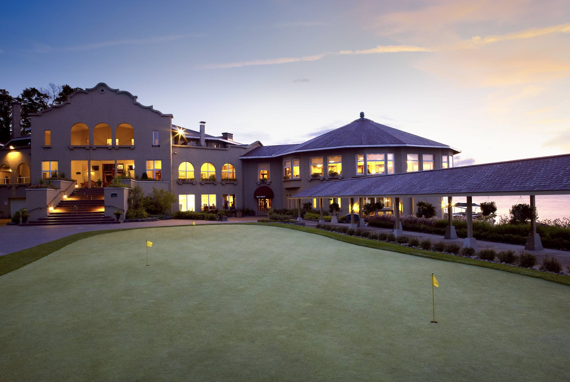 Bigwin Island Golf Club house
