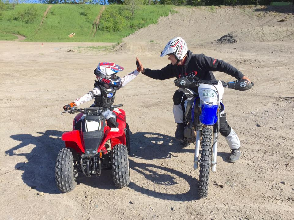 Yamaha Adventures in Horseshoe Valley people on ATV