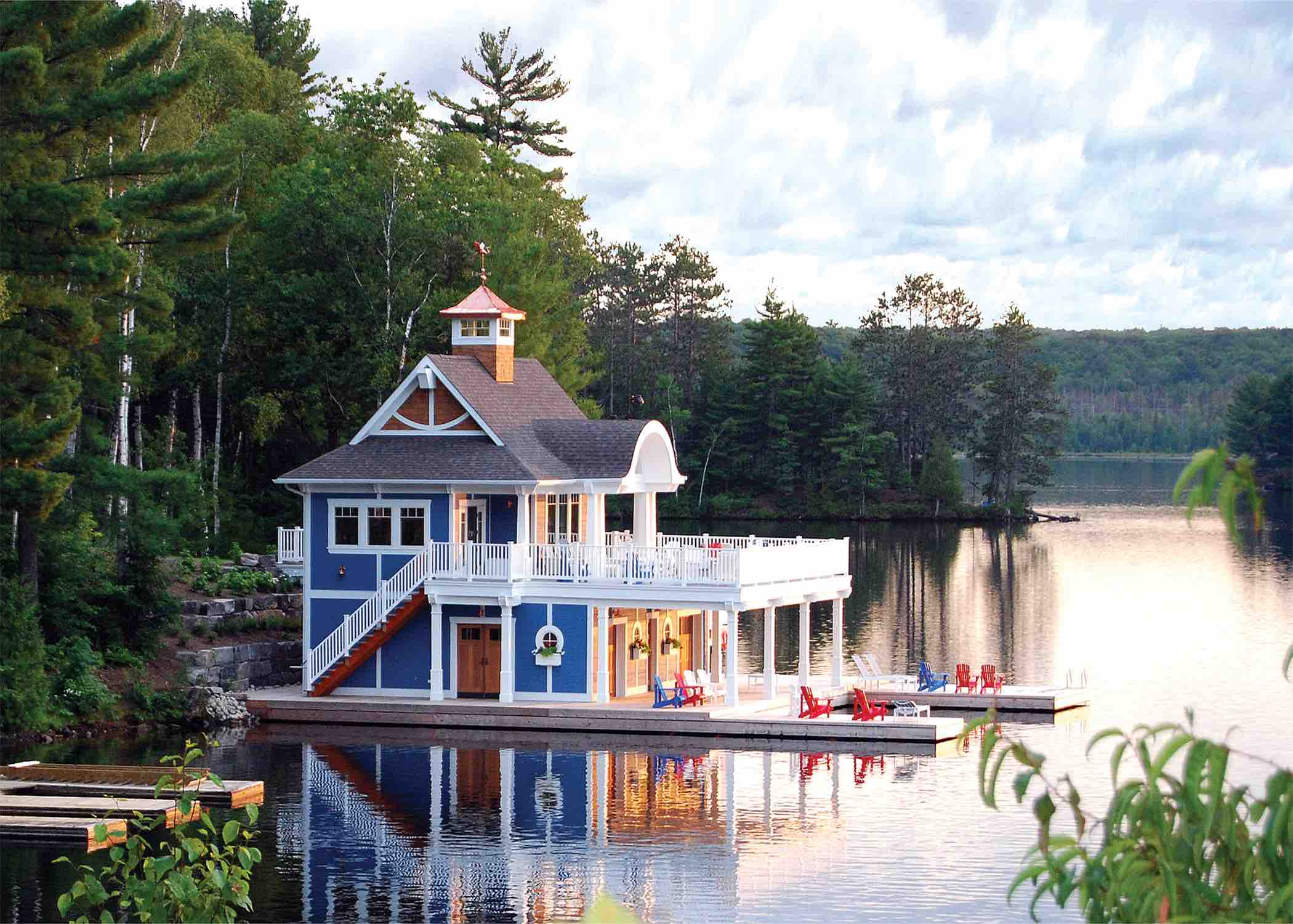 The Landscapes Lake of Bays The Boathouse